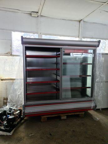Вертикална хладилна витрина с изнесен компресор