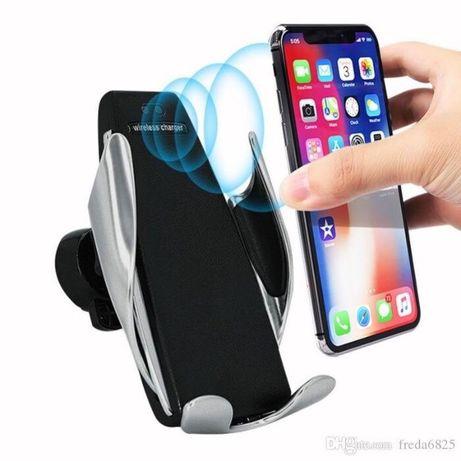 Incarcator Auto Suport Pingui Wireless Fast Charging cu brate mobile.