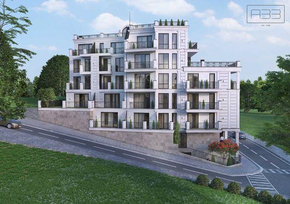 тристаен тухлен апартамент в новострояща се сграда
