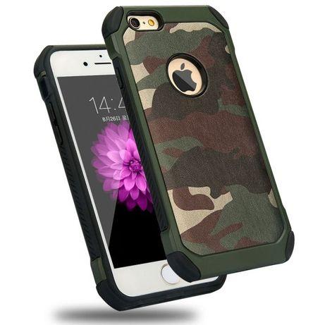 Камуфлажен Кейс за Iphone 5 / 5S / SE / 6 6S iPhone 7 8 X XS Max XR