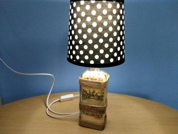 "Veioza (lampa) handmade ""Sporul casei"""