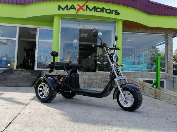 Електрическа триколка MaxMotors HARLEY 1500W - топ качество