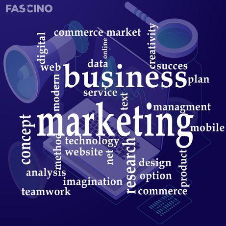 Servicii marketing, creare WebSite, servicii foto-video, Fascino