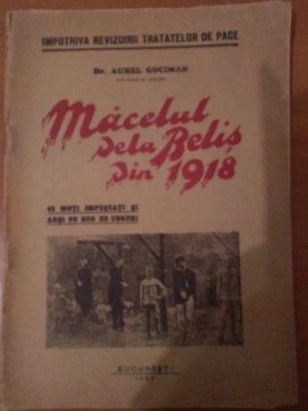 Macelul de la Belis (Cluj) din 1918 - 45 moti impuscati si arsi pe rug