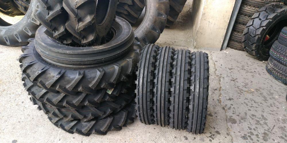 Cauciucuri noi 5.00-15 de directie pe fata la tractor r15 6 pliuri Brasov - imagine 1