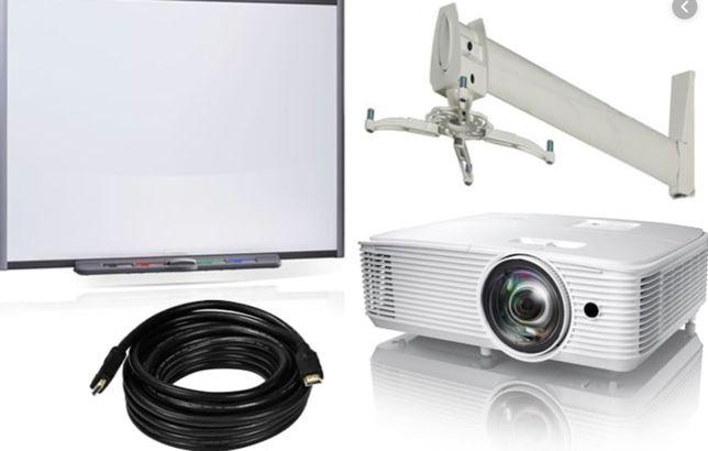 Sistem interactiv SMART Board cu videoproiector short/Long throw