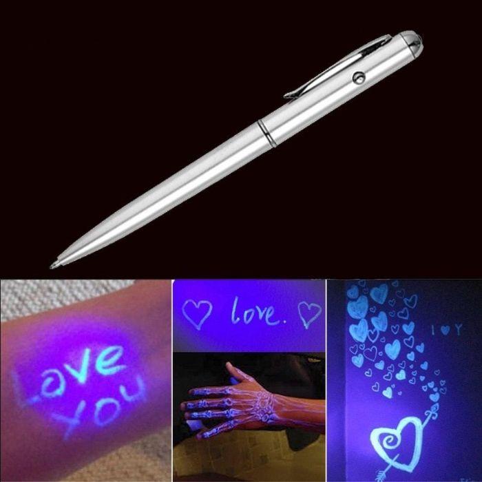 PIX cu lumina LED cerneala invizibila cu Lampa UV integrata Odorheiu Secuiesc - imagine 1