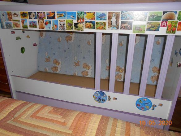 Детско легло-люлка 60/120+подаръци