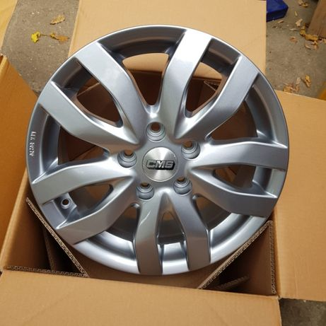 """Jante CMS C22 noi 16"""" 5x108 Ford Focus,Mondeo,Volvo plata in rate"""