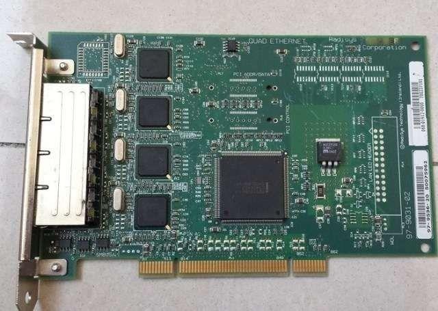Placa retea Radisys pci-x quad port ethernet Adapter 4 LAN E139020