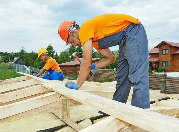 Firma constructii, ofera servicii de reparatii acoperisuri, montaj