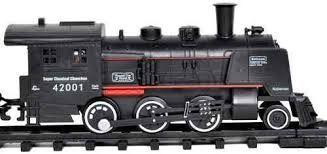 Locomotiva electrica cu fum si sunet - Haktoys USA