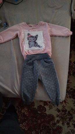 Комплект за бебе момиче