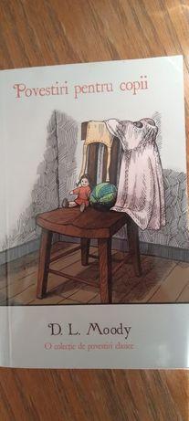 """Cartea """"Povestiri pentru copii-D. L. Moody"""
