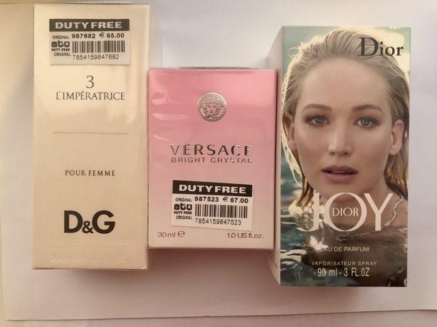 Парфюм D&G, Joy Dior, Versace