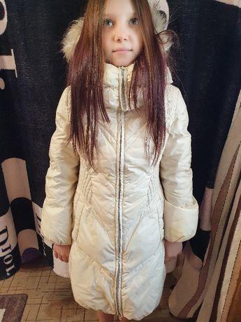 Продам зимний пуховик детский