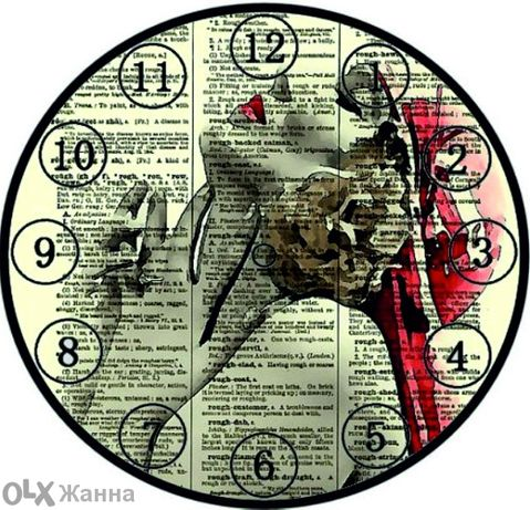 Хартия за декупаж (часовницы)