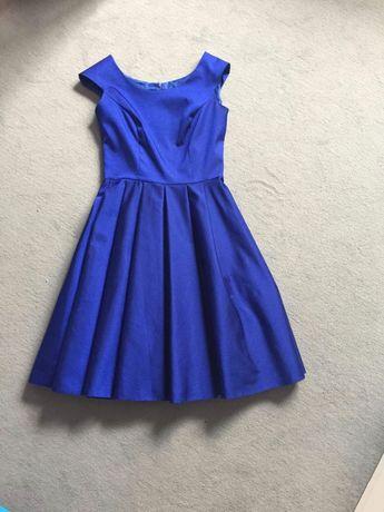 Rochie eleganta de gala. O singura purtare ,marime 36. Albastru regal