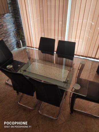 Трапезна маса плюс 6 стола