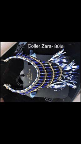 Colier Zara cu pene