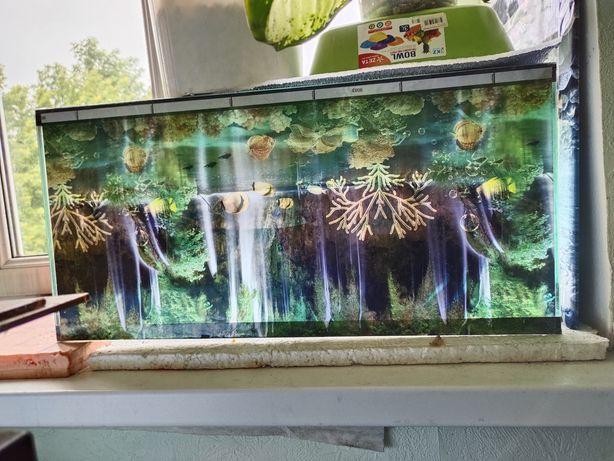 Продам аквариум на 55 л.,