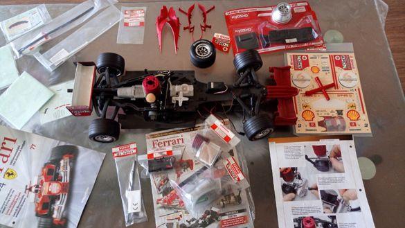 Продавам Ferrari f2004 Deagostini (KYOSHO ) 1/8