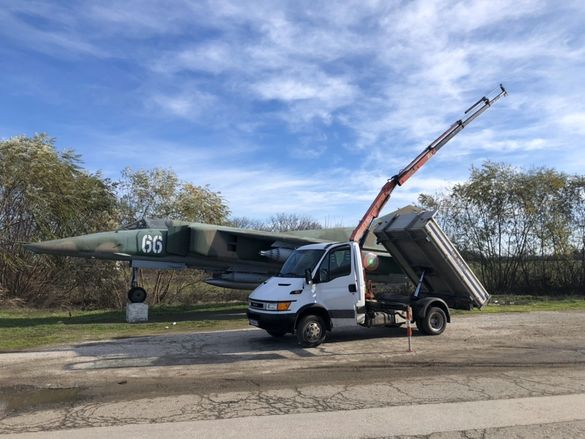 Кран камион