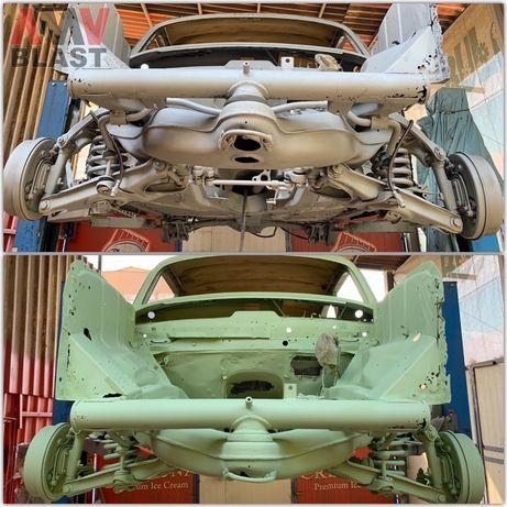 Обработка на Шаси Антикорозионна защита за автомобили