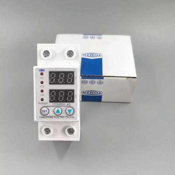 ХИТ! Автоматична защита от високо/ниско напрежение 63А гр. Добрич - image 1