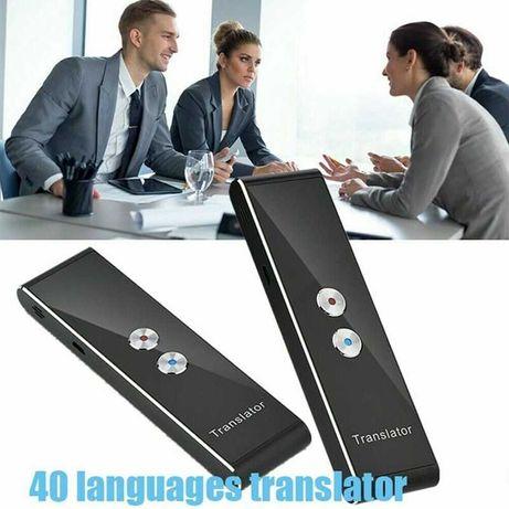 T8+ Translator / traducator  portabil, bluetooth, 41+ limbi