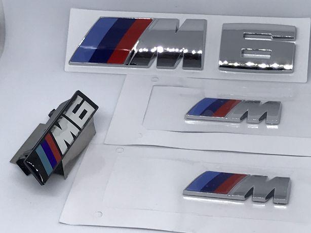 Set Embleme BMW M6