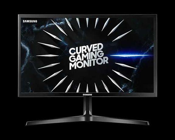 Игровой изогнутый монитор с частотой обновления 144 Гц