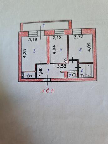 2-х комнатная квартира по ул. Рудной
