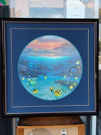 Морски Художник от Хавай Кристиан Риес Ладен*Изкуство и Ръчни Графики