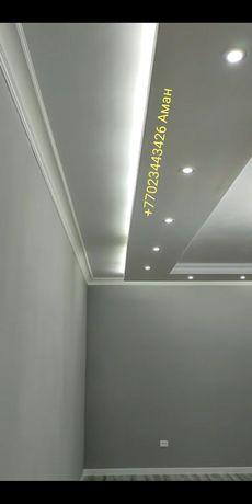 Дизайн потолков из  гипсокартона любой сложности