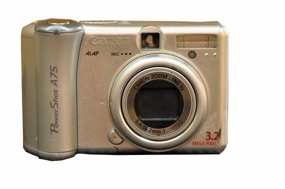 Canon Power Shot A75 3.2 MP Digital Camera Silver