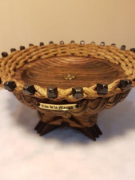Fructiera vintage lemn