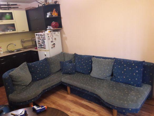 ъглов диван за спане