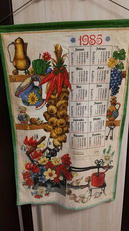 Календар от плат 1985г.