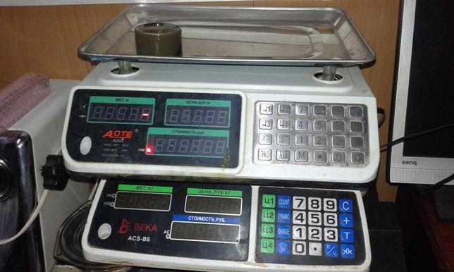 Товарные напольные  электронные весы BEKA ACS-B5