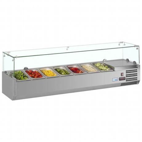 Хладилна витрина за салати, Хладилни витрини за салати НОВИ,салат бар