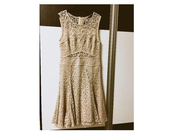 Victoria's Secret - официална дантелена рокля с подплата номер 36