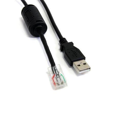 APC UPS USB Cable AP9827, UPS - USB la RJ45