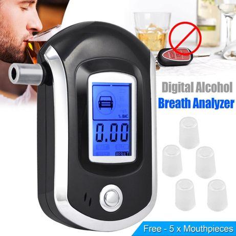 Дрегер тестер детектор анализатор за тестване на алкохол с течнокриста