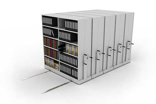 мобильные Стеллаж архивный передвижной по низким ценам!