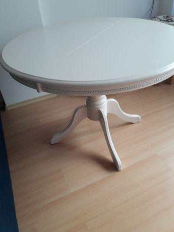Круглый стол (кремовый цвет)