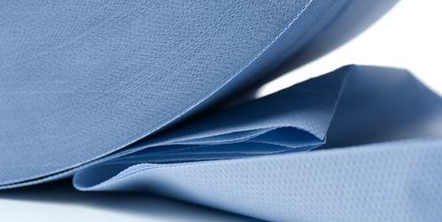 Hartie albastra 3 strat.Hartie spalatorie import.Nu lasa scame! H=26cm
