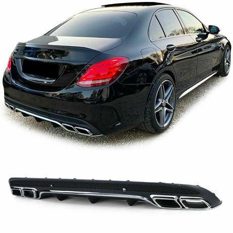 Дифузьор AMG тип C63 за Mercedes C класа W205 седан/ S205 комби