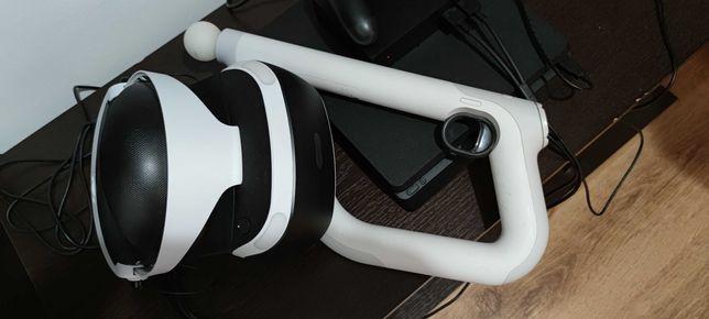 PSVR + Aimcontroller + Camera + 2 jocuri VR