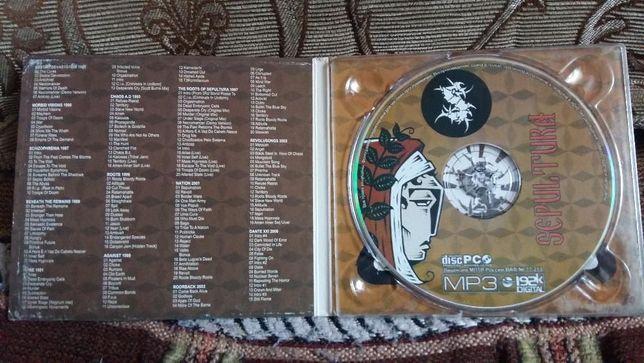 Продам МР-3 диск Sepultura